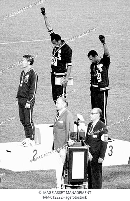 The Black Power salute was a human rights protest and one of the most overtly political statements in the 110 year history of the modern Olympic Games