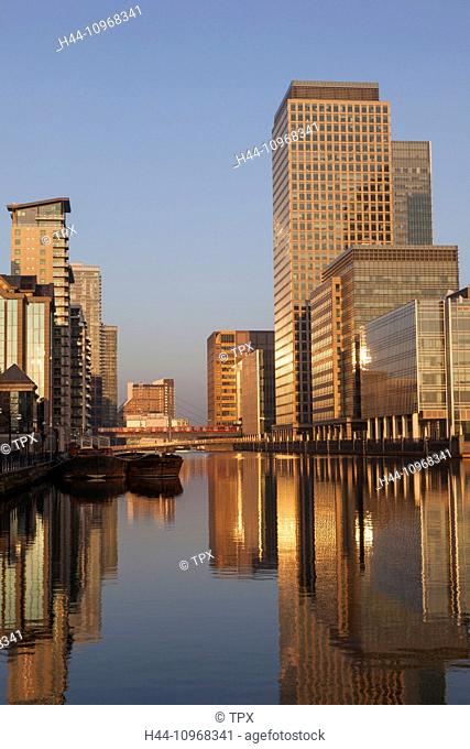 England, Europe, London, Docklands, Canary Wharf