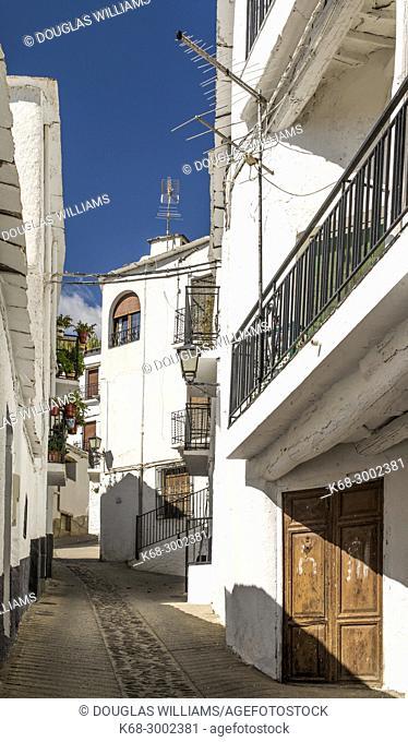 Village of Trevelez, Alpujarras, Andalucia, Spain