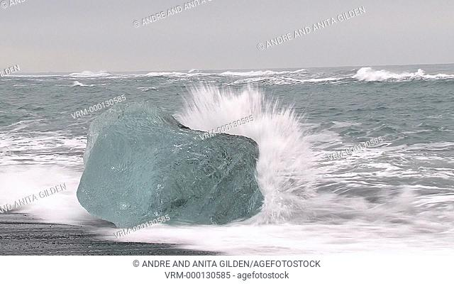 Lump of Ice in surf