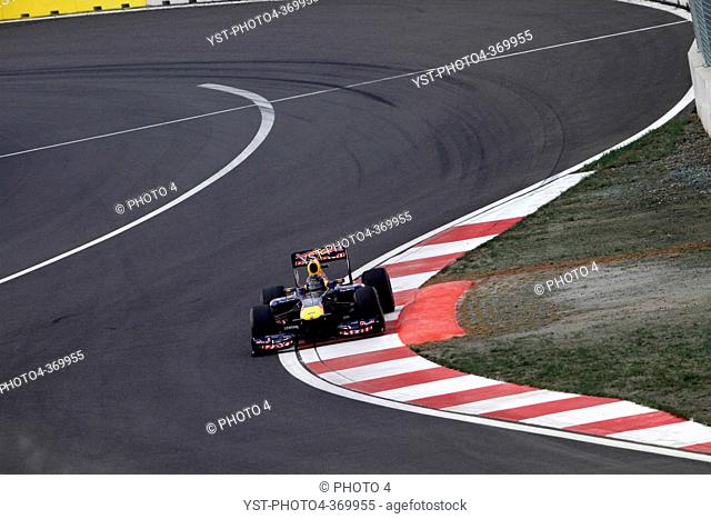 Qualifying, Sebastian Vettel GER, Red Bull Racing, RB7, F1, Korean Grand Prix, Yeongam, Korean