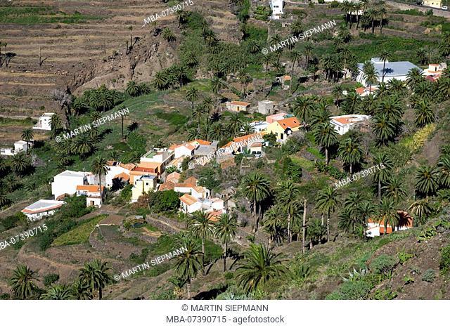 La Vizcaina, Valle Gran Rey, La Gomera, Canary Islands, Canary Islands, Spain
