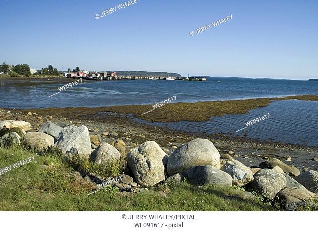 Sunset, Peggys Cove, Nova Scotia, Canada