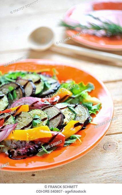 Marinated vegetables salad
