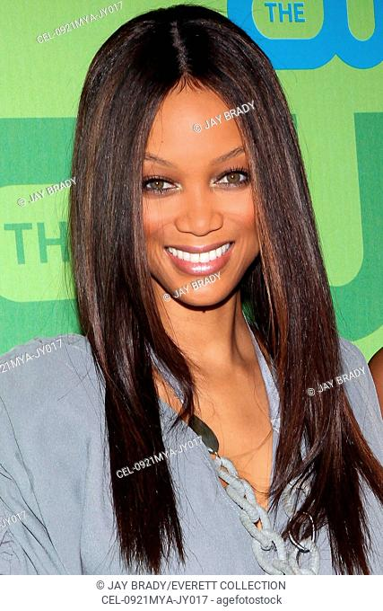 Tyra Banks at arrivals for The CW Network Upfronts, Madison Square Garden, New York, NY May 21, 2009. Photo By: Jay Brady/Everett Collection
