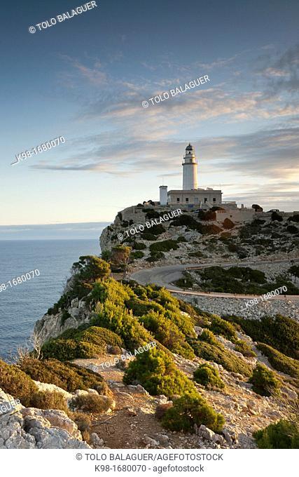 Lighthouse of Formentor Formentor Peninsula Pollença Sierra de Tramuntana Mallorca Spain Balearic Islands