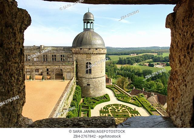 Château de Hautefort, Aquitaine, France