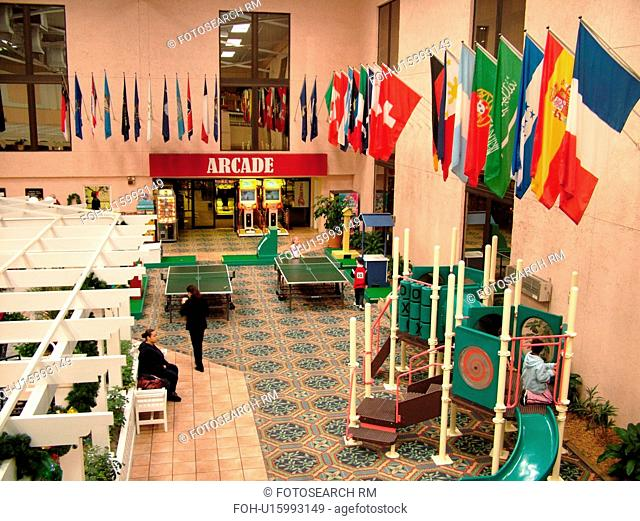 Orlando, FL, Florida, Orange Lake Country Club and Resort, interior, game room, Arcade