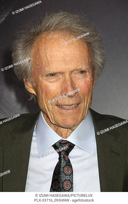 "Clint Eastwood 12/10/2018 The World Premiere of """"The Mule"""" held at the Regency Village Theatre in Los Angeles, CA Photo by Izumi Hasegawa / HNW / PictureLux"