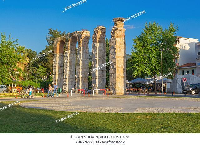 Roman Aqueduct, Ephesus, Selcuk, Izmir Province, Turkey
