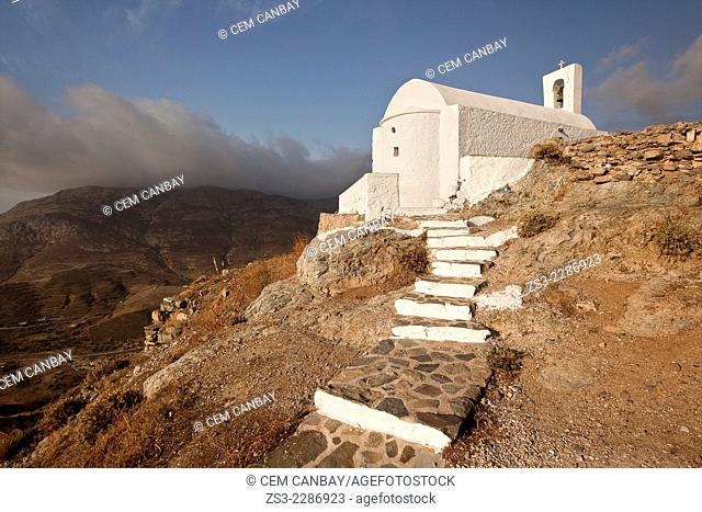 Agios Constantinos church in Hora, Serifos, Cyclades Islands, Greek Islands, Greece, Europe