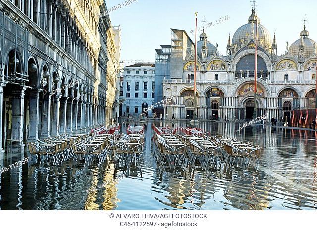 Basilica San Marco. St  Mark's Square. Venice. Veneto. Italy