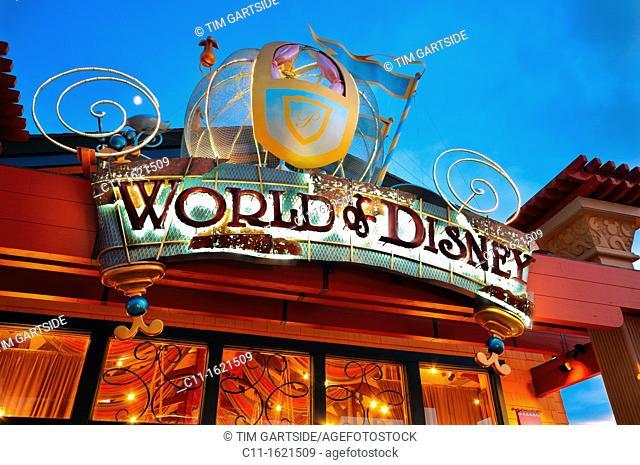 world of disney,downtown disney,orlando,florida,usa