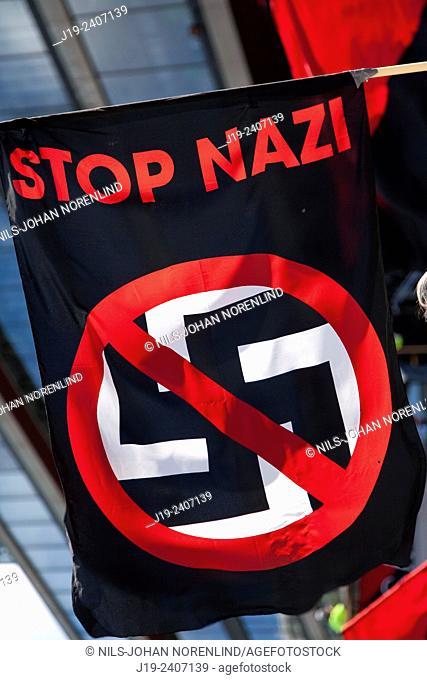 Stop Nazi.Stockholm    Sweden
