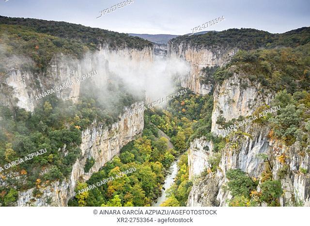 Arbayun gorges, Lumbier, Navarre, Spain