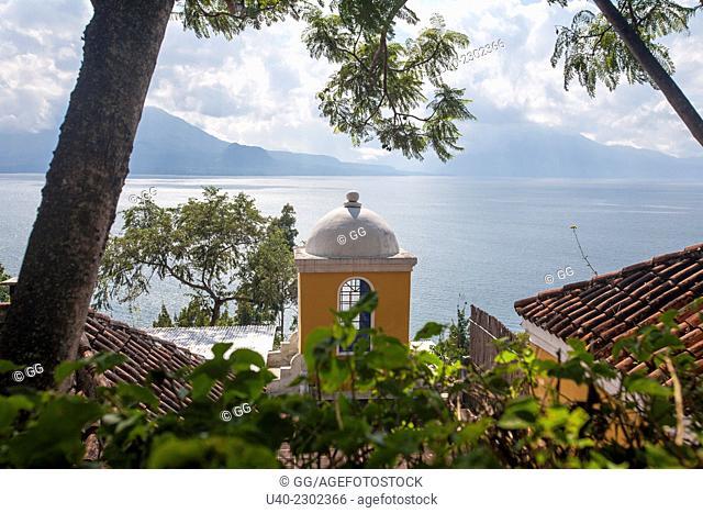 Guatemala, Lake Atitlan, Santa Catarina Palopo
