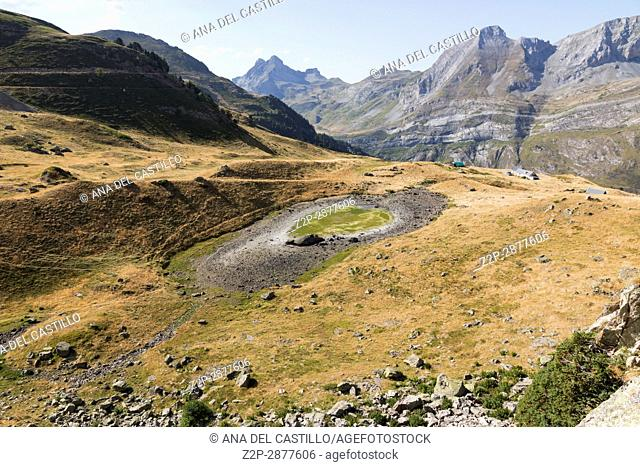 The little train of Artouste is the highest passengers train of Europe and run from Artouste town to alpine lake of Artouste on August 14