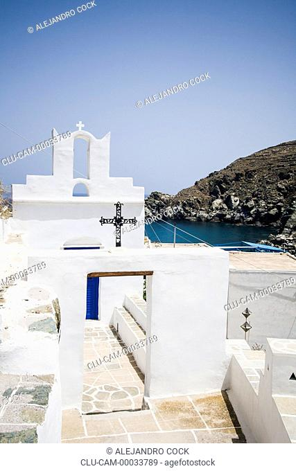 Church Traditional of Sifnos, Kastro, Islands of Ciclades, Greece, Western Europe
