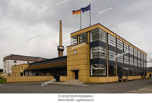 Alfeld/Leine Fagus-Werk v Walter Gropius u Adolf Meyer 1911-15