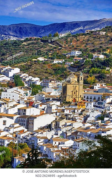 Montefrio, Washington Irving Route, Granada province, Andalusia, Spain