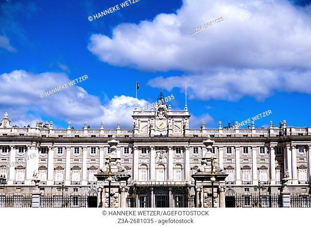 Royal Palace of Madrid, Spain, Europe