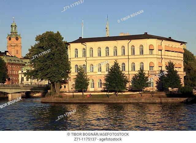 Sweden, Stockholm, Strömsborg island