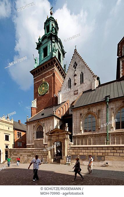 Krakau, Kathedrale St. Stanislaus und Wenzel, Wawel-Kathedrale, Wawel