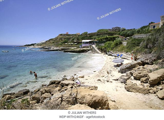 Desternation Greece/Kefalonia reort of St Thomas on the south coast