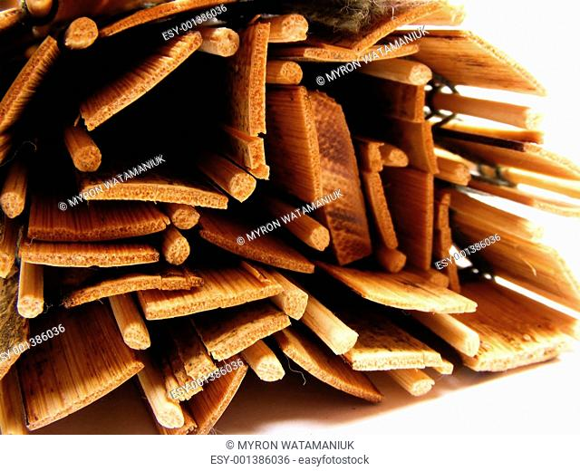 Rolled Bamboo Mat