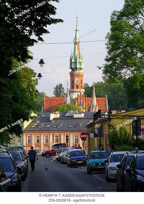 St Josephs Church in Podgorze, Krakow, Poland
