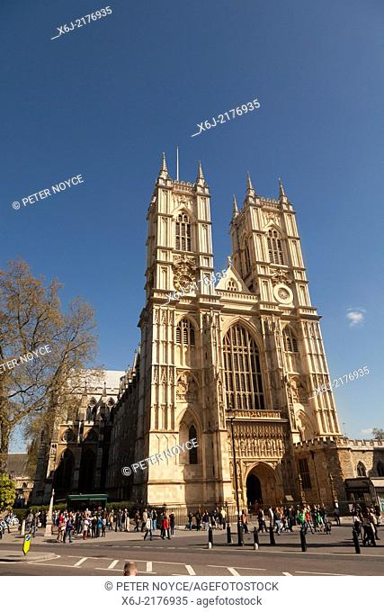 Westminster Abbey exterior London