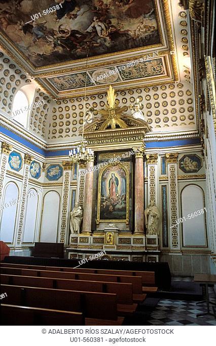 Palacio de Minería old chapel. Mexico city. Mexico