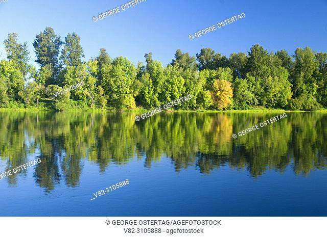 Willamette River, Willamette Mission State Park, Oregon