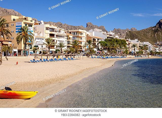 Beach, Puerto de Pollensa, Mallorca - Spain