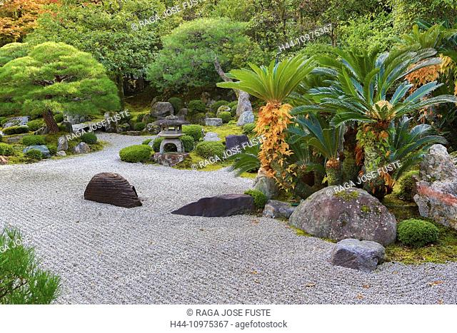 Chion-In, Japan, Asia, Kansai, Kyoto, Japanese, Landscape, Temple, architecture, colourful, fall, garden, green, lantern, nature, no people, toro, touristic