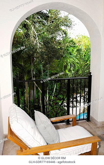 Armchair in the balcony