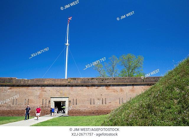 Savannah, Georgia - Fort Pulaski National Monument