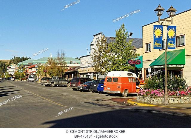 Whitehorse, capital of Yukon Territory, Canada