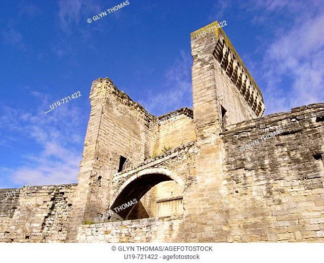 Porte de l'Oulle, Avignon, France