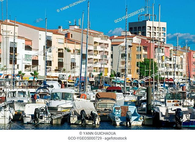 Cap D'Agde, Herault, Languedoc-Roussillon,France