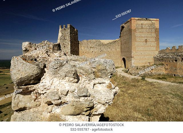 Califal Islamic fortress (IXth - XVth). Gormaz. Soria province. Castilla-León. Spain