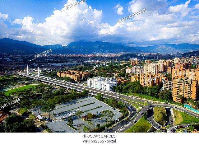 South Street Bridge 4, Medellin, Antioquia, Colombia
