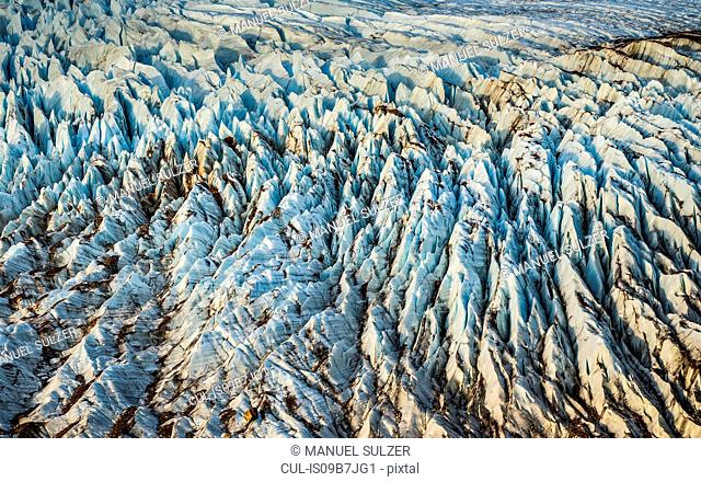 Detail of Torre glacier in Los Glaciares National Park, Patagonia, Argentina