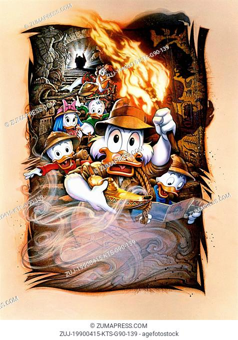 RELEASE DATE: August 3, 1990  MOVIE TITLE: DuckTales: The Movie -Treasure of the Lost Lamp  STUDIO: Walt Disney Pictures  DIRECTOR: Bob Hathcock  PLOT: Scrooge...
