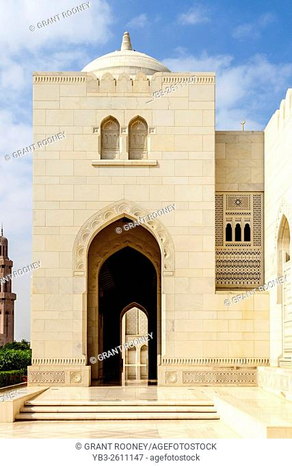 Sultan Qaboos Grand Mosque, Muscat, Sultanate Of Oman