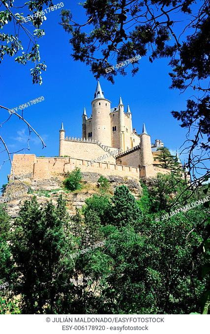 Alcazar of Segovia, Castilla Leon, Spain