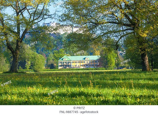 Fortress Hohensalzburg, Monastery Nonnberg and Gwandhaus, Salzburg, Austria, Europe