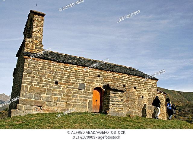 Romanesque Church of Sant Quirc, Durro, Vall de Boi, Catalonia, Spain