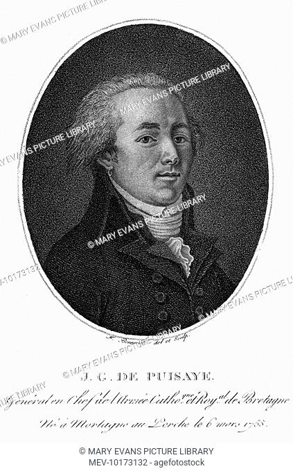JOSEPH comte de PUISAYE French royalist military commander