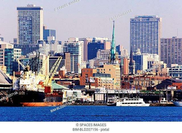 City Skyline & Harbor